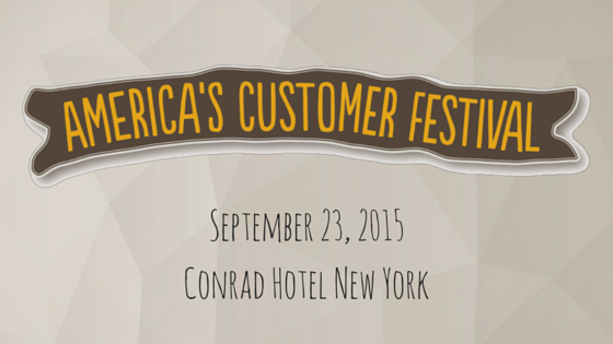 Americas Customer Festival 2015