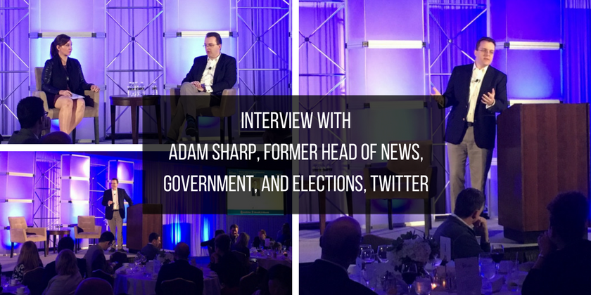 Marketer in New York interviews Adam Sharp, Twitter